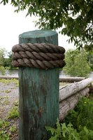 Wood that is resistant to damp and rot makes the best fence posts.
