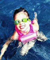 Treading water is a good first step toward learning how to swim.