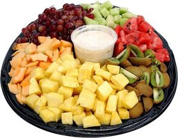 A fruit platter can add nutritious fun to any child's party.