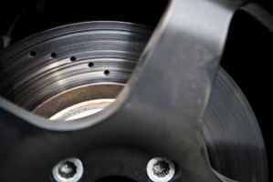 Brake discs and drums can become noisy when overheated.