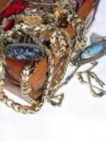 Use old vintage jewelry to make new pieces.