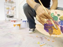 Art careers include photography, sculpture, painting, ceramics and illustrating.