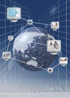 Internet regulation occurs as part of a network of regulating organizations.