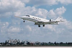 The G150 business jet can carry up to eight passengers.