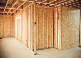 Walls parallel to joists usually require blocking to serve as a nailing surface.