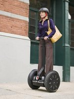 Segways can be used to travel to work or visit friends.