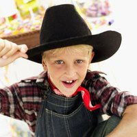 Cowboys and Indians are intriguing to children and can grab their attention.