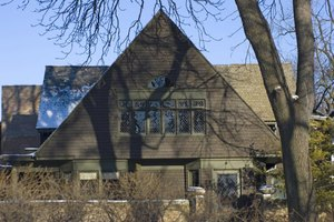 Frank Lloyd Wright's home in Oak Park is open to the public.
