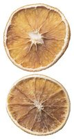 Use dried oranges to make festive crafts.