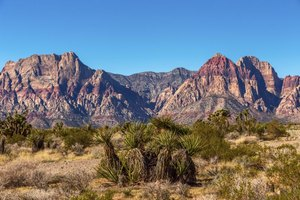 Nevada's Red Rock Canyon is a National Conservation Area.