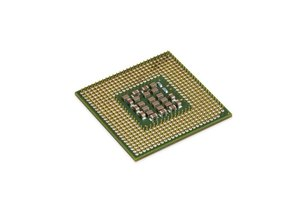 A processor is a complex array of transistors and other electronic components.