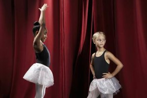 Make demure bun covers for little ballerinas to wear on stage.