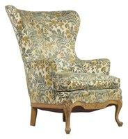 Make a wingback chair look brand-new.