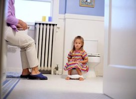 Try to look at potty training as a bonding, not stressful, time.