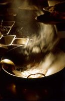 Seasoning your wok may create considerable smoke, so open windows and use your hood vent if you have one.