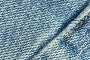 Denim has a tight, diagonal weave pattern.