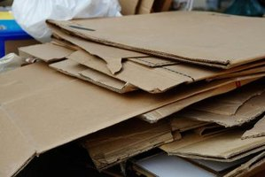 Cardboard is an excellent material for creating funny projects.