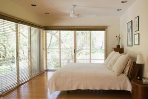 Window blinds can control the quality of natural light in a room.
