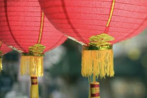 How to Make a Round Chinese Lantern