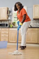 Mix cleaning chemicals with great care.