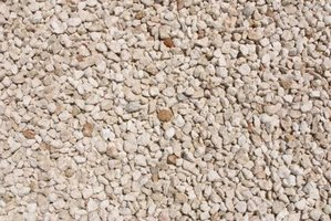 Pea gravel offers a smooth, textured surface to driveways and patios.