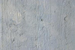 Concrete walls require special preparation before coating.