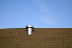 Install a roof vent to help regulate the air flow throughout your attic.