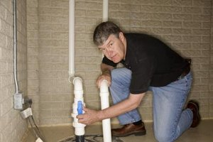 How to Fix a Leak With Piping Under a Concrete Slab