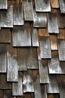 Wooden shingles can add natural beauty to a home.