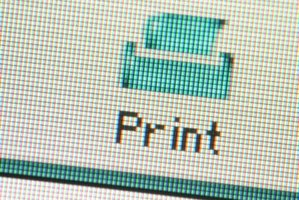 Adding a print icon to your browser requires a few short steps.