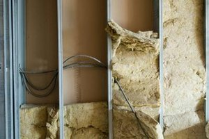 Vapor barriers must be installed over insulation.