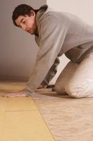 You don't need a professional to install a laminate floor.
