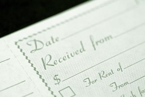 Simple forms can help make writing a rent receipt easier.