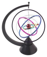 Make an atom model using basic art supplies.