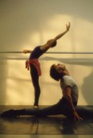 Ballet requires a tremendous amount of flexibility.
