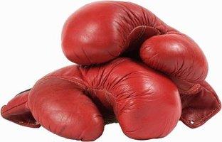 Gloves and punching pads are all you need to get a quality boxing workout.