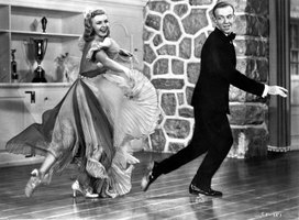 Ginger Rogers often partnered with dancer Fred Astaire for TV specials and movies.