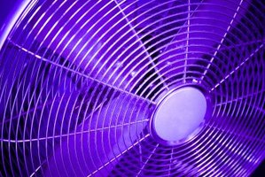 Fans circulate air to aid in the odor removal process.
