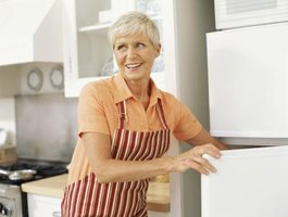 The entire refrigerator will run more efficiently if the freezer is working properly.