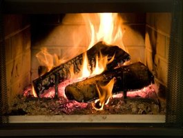 To withstand the heat of the flames in your chimney, you'll need to build a firebox.