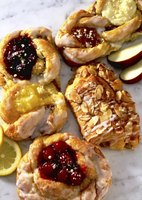 Bake mini tartlets with filling or add cold filling to baked shells.