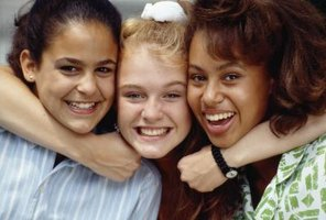 You can help your teen develop social skills by encouraging her to participate in various activities.