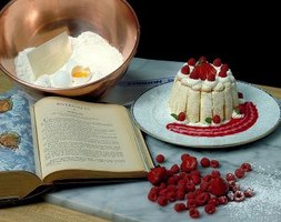 Cake flour makes desserts light, tender and crumbly.