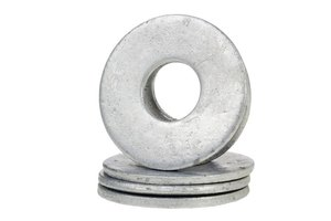 Texas horseshoe washers have a 1-inch hole in the center.