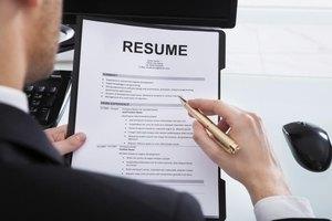 Omitting a job on your resume