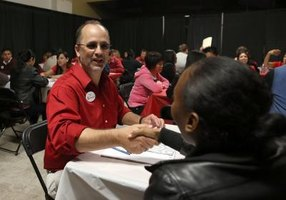 The Target job site lists job fairs and college recruitment events.