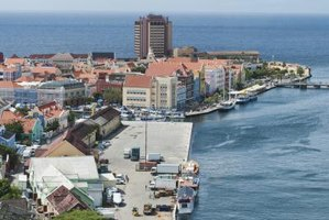 Curacao's capital city, Willemstad is modeled after European cities of the 1600s.