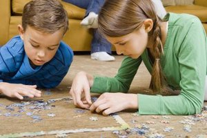 Jigsaw puzzles are an engaging family activity that can be easily turned into art.
