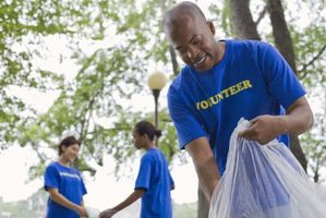 Community outreach can be as simple as park cleanup or as complex as building homes.