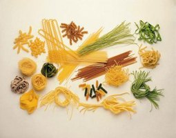 Vermicelli may be made of wheat or rice.